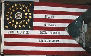 custer flag