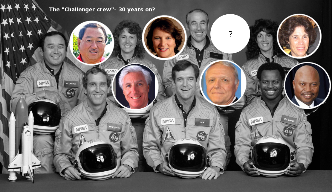 were the bodies of challenger crew recovered #11