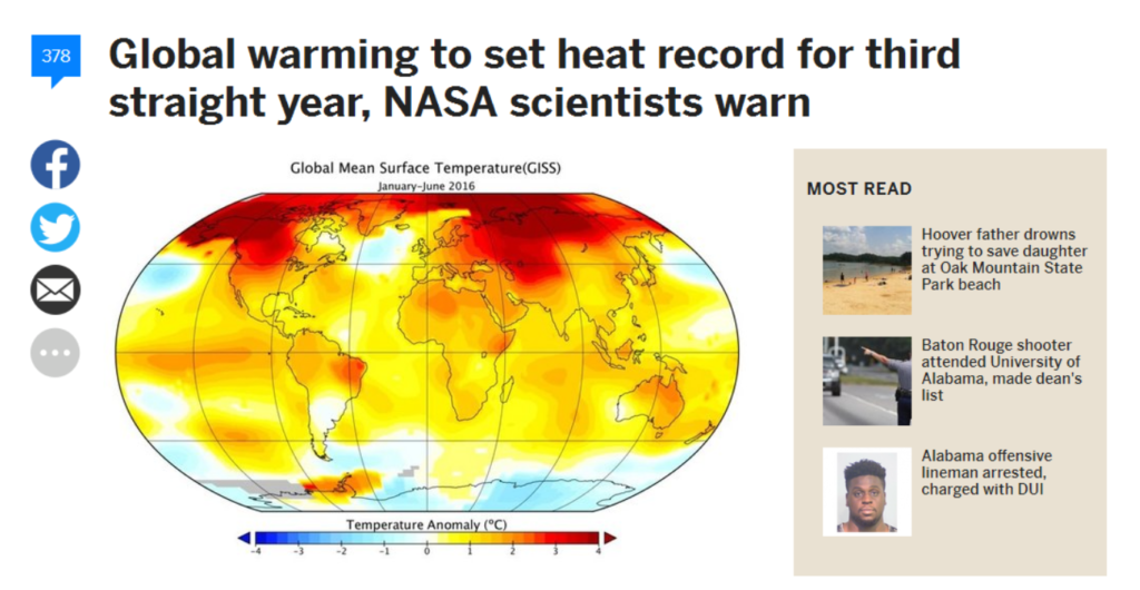 NASA Preannounces Record Fraud For The Third Straight Year ...