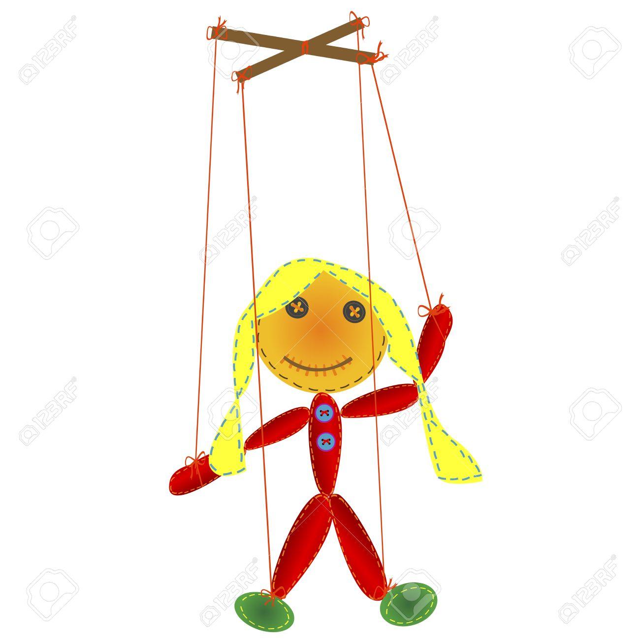 Как сделать куклу на веревочках своими руками