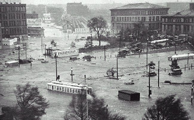 downtownflooding1938