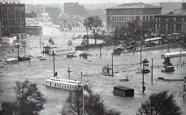downtownflooding1938