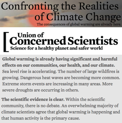 global warming a real concern among scientists