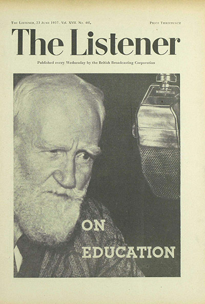 an analysis of in the rear view mirror by george bernard shaw