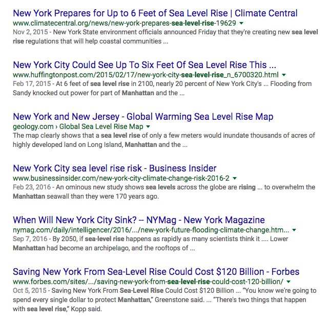 Nasa S Top Climate Expert Says Lower Manhattan Is Already Underwater