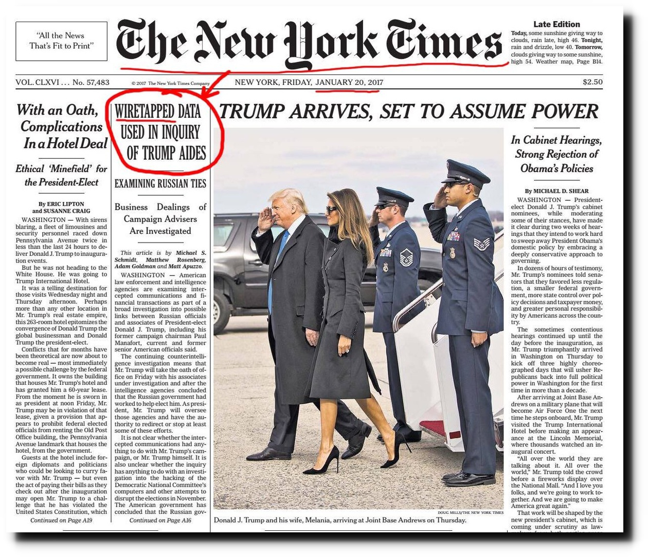 Latest Scientific News: Fake News New York Times Fails To Cover Their Tracks