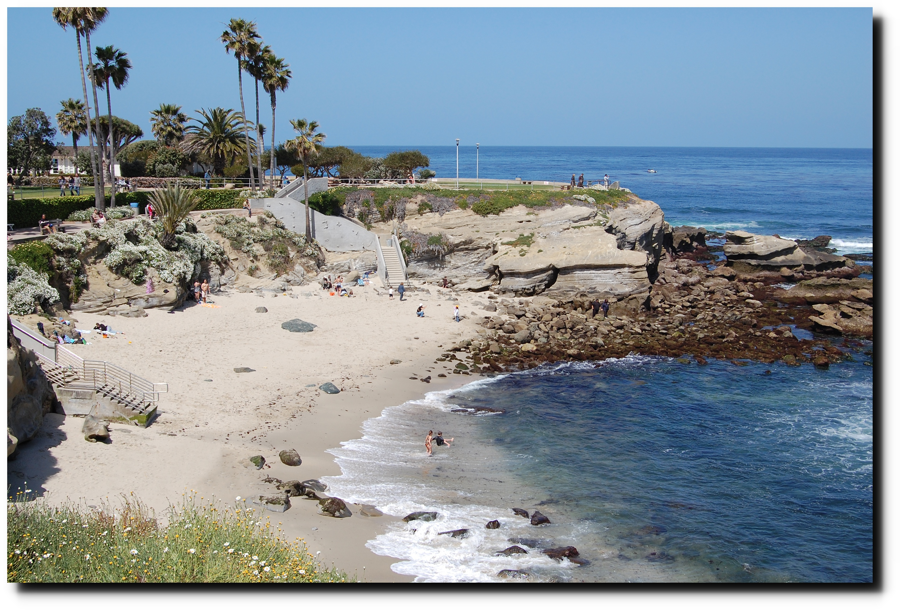 Little or no sea level change at la jolla california since 1871 at low tide the beach looks like this nvjuhfo Images