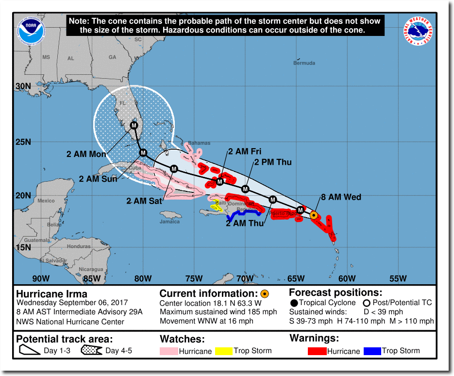 Irma Conditions Similar To The 1935 Labor Day Hurricane The