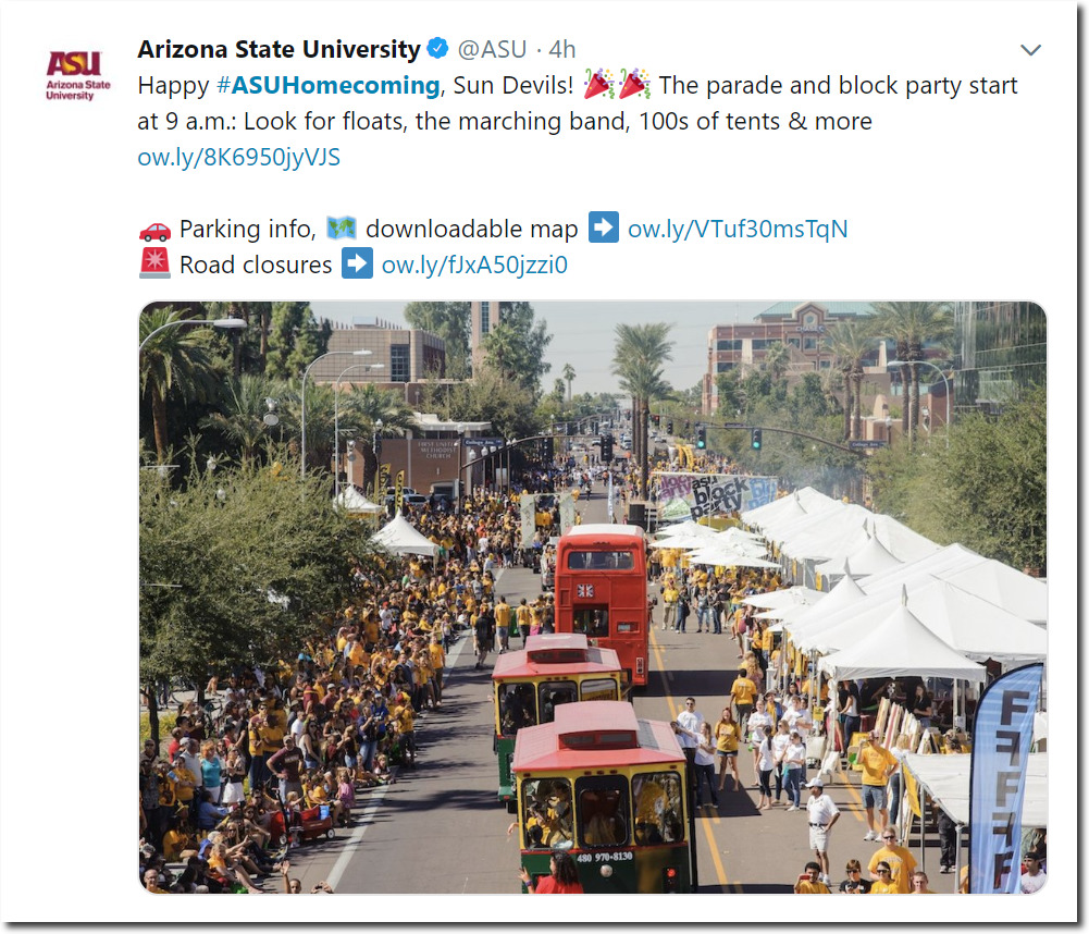 ASU Homecoming | Iowa Climate Science Education