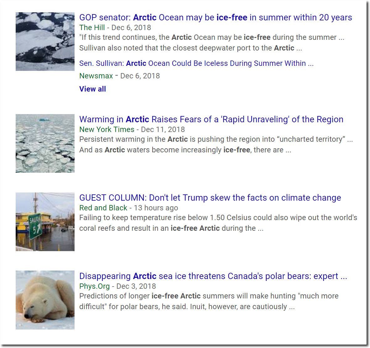 Why The Arctic Is Not Going To Become Ice Free | The Deplorable