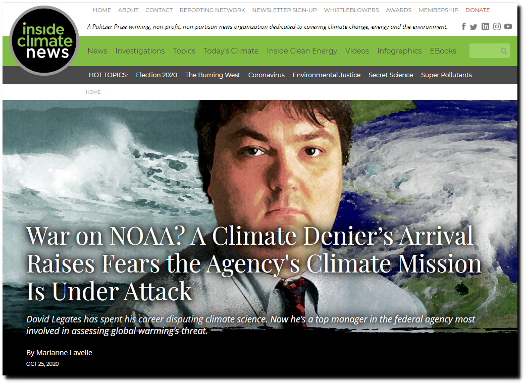 Rebuttal: Full takedown of mainstream media's incorrect climate claims & media's attack on NOAA scientist Dr. David Legates